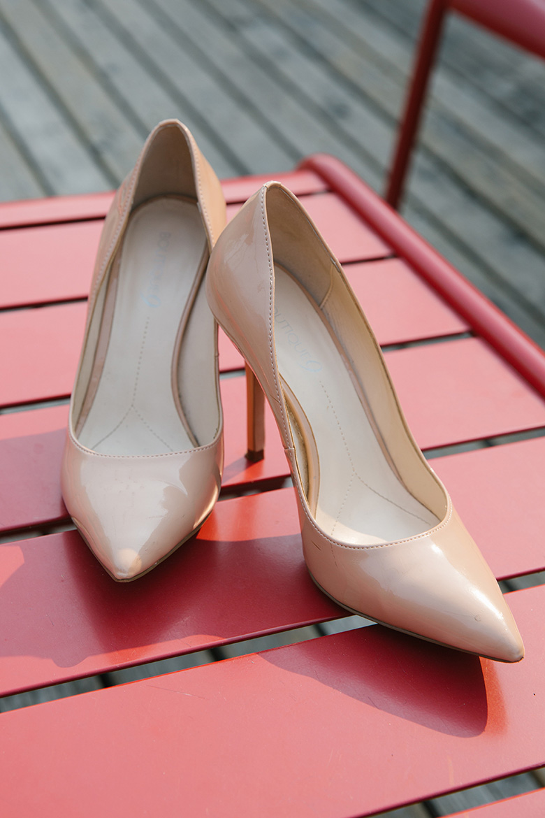 Within Sodo Seattle wedding bride shoes
