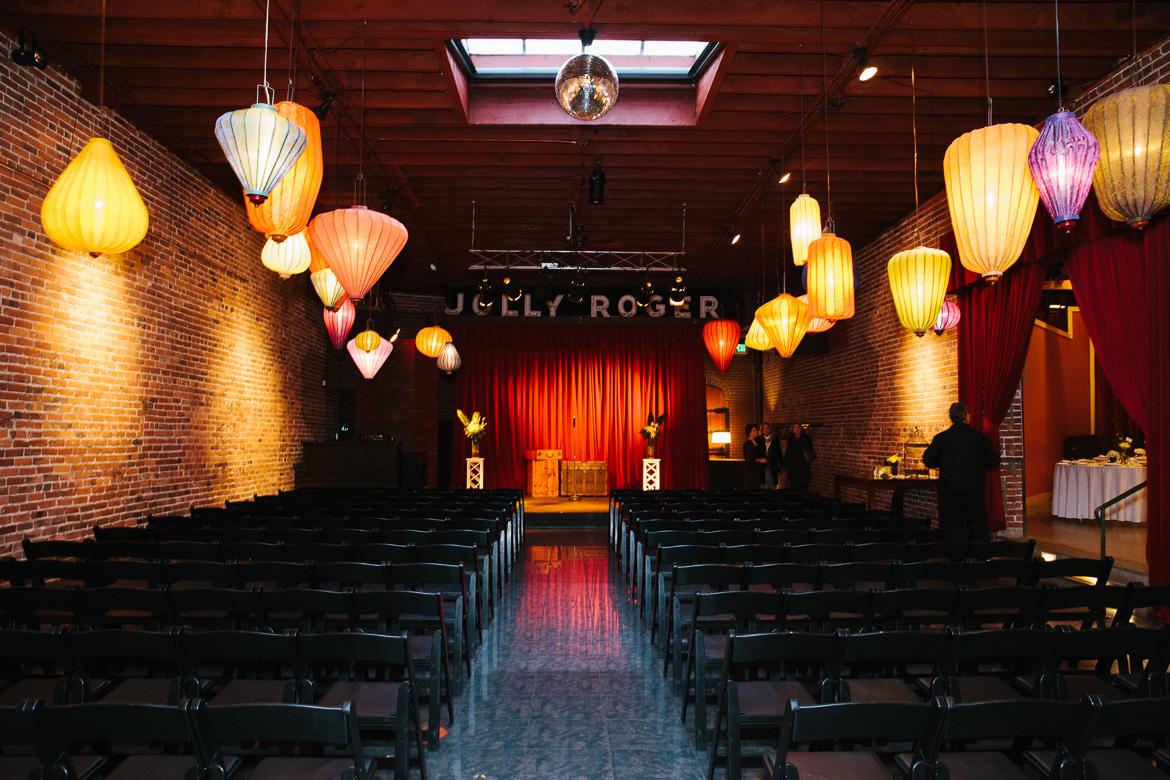 Georgetown Ballroom wedding ceremony site